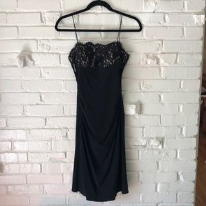 JS Boutique Black Cocktail Dress